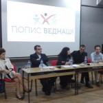 """Со дебата во Тетово започна кампањата """"Попис веднаш"""""""