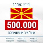 Над половина милион попишани граѓани за девет дена