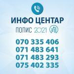 ДЗС: Телефонски линии за прашања поврзани со пописот